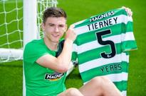 Celtic star Kieran Tierney could have massive dilemma to solve if Manchester United want him reckons...