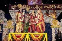 Before Ramlila begins, preparation starts with clean mukut