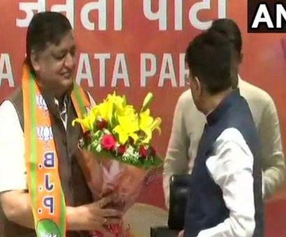 Sena says Naresh Agrawal's induction in BJP responsible for reverses in UP