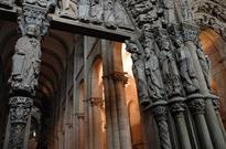 Who is Buried in the Famous Shrine of St James in Santiago de Compostela?