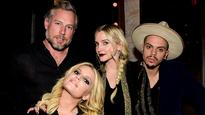 Ashlee Simpson recording an album with very special loved one