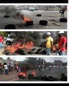Information | Students, Nehawu protesting in Alexandra  police