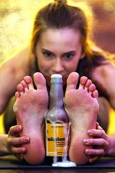 Cheers and namaste to beer yoga