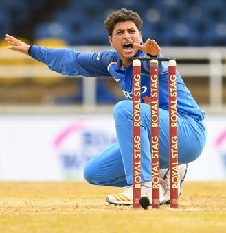 PHOTOS, 2nd ODI: Rahane's ton sets up India's 105-run thrashing of Windies