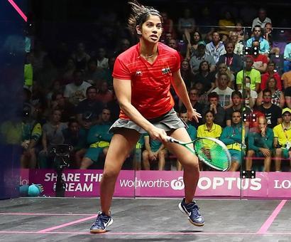 Joshna posts first-ever win over legendary Nicol