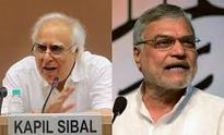 Kapil Sibal gets additional charge of law and C P Joshi railways