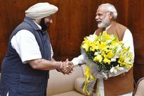 You can't present PM Modi with flower bouquets any more
