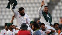 West Indies v/s Pakistan: Younis Khan, Misbah-ul-Haq get perfect farewell with dramatic win