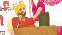 Bhagwant Mann criticises govt for poor farming policies