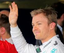 Not a question of luck, says pole man Rosberg