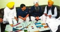 Eyes on Panthpreet Singh, Arvind Kejriwal meets Nandgarh