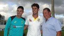 All in the family: Mitchell Marsh joins father Geoff, brother Shaun as Ashes centurions