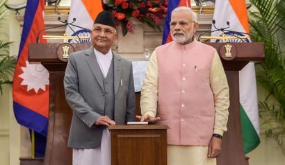 PM, Oli hold talks; seek to reset Indo-Nepal ties