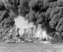 Watch historical footage of Pearl Harbour hours after the devastating Japanese attack on December 7, 1941