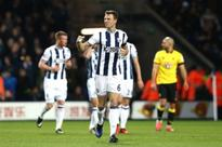 West Brom 3 Watford 1: Baggies up to sixth after seeing off ten-man Hornets