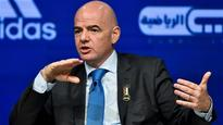 Fifa's Gianni Infantino plans to increase World Cup teams
