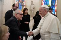 Scorsese and Pope Francis swap 'hidden Christians' stories