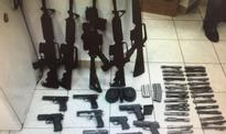 Israel Apprehends Two Suspects Smuggling 5 M-16 Rifles, 20 Handguns