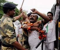 Telangana farmers stage protest, seek proper compensation for lands