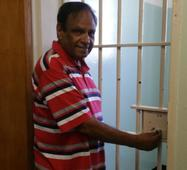 Freedom fighter returns to cell on Robben Island