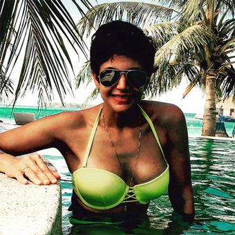 Mandira Bedi holidays in Maldives