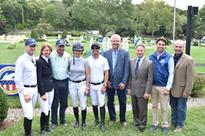 46th Annual American Gold Cup Gallops into Westchester County September 16, 2016County Executive Highlights Event's Contribution to Economic Growth US Silver Medal Olympic Team Honored At Press Conference