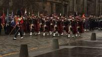 Scotland marks Remembrance Sunday