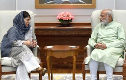 PM open to talks once normalcy restored in Kashmir: Mehbooba