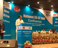 Vice President Inaugurates National SC ST Hub (NSSH) Confluence