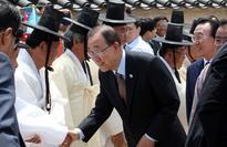 Ban Ki-moon leads in presidential poll