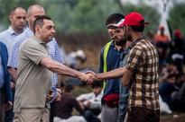 Migrants Continue Hunger Strike At Serbia-Hungary Border
