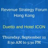 Learn New Ways to Increase Hotel Profitability at Revenue Strategy Forum Hong Kong