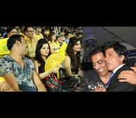 Vindu is a regular at IPL matches and often spotted with many celebrities during the match.