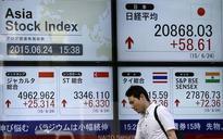 Asian stocks edge down amid European bank woes