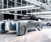 Rolls-Royce driver-less 103EX: luxury guaranteed