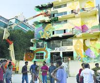 Telling a story with art at Namma Metro stations in city