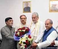 Parshottam Rupala takes over charge as the new Minister of State for Agriculture & Farmers Welfare