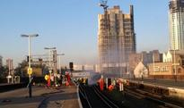 BREAKING: Blaze at Vauxhall station causes major travel chaos across south England