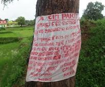 Maoist posters demanding suspension of 3 Odisha Mins found