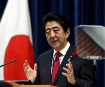 Japan's Abe hopes promises on jobs, defence will temper Trump's tone on trade