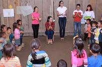 Beauty queens help build school in Yen Bai Province