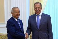 Uzbek leader holds meeting with Sergei Lavrov