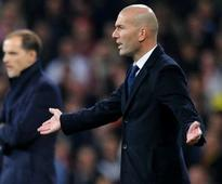 Zidane 'angry' as Real Madrid let top spot sl...