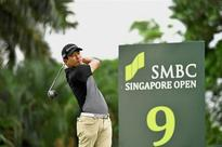 American Seung-su grabs clubhouse lead at Singapore Open
