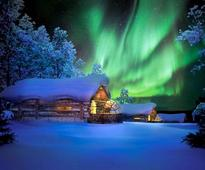 Sleeping under the Northern Lights: that's what you can do at this hotel in Finland