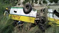 20 killed after bus falls into gorge in Himachal