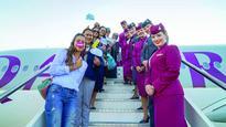Pisa welcomes first Qatar Airways f...