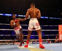 Anthony Joshua retains IBF title in emphatic style