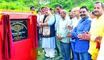 Rana lays foundation stone of Sulabh Shauchalaya, bathing ghats