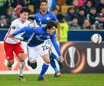 Schalke's Uchida plays after 21-month injury layoff